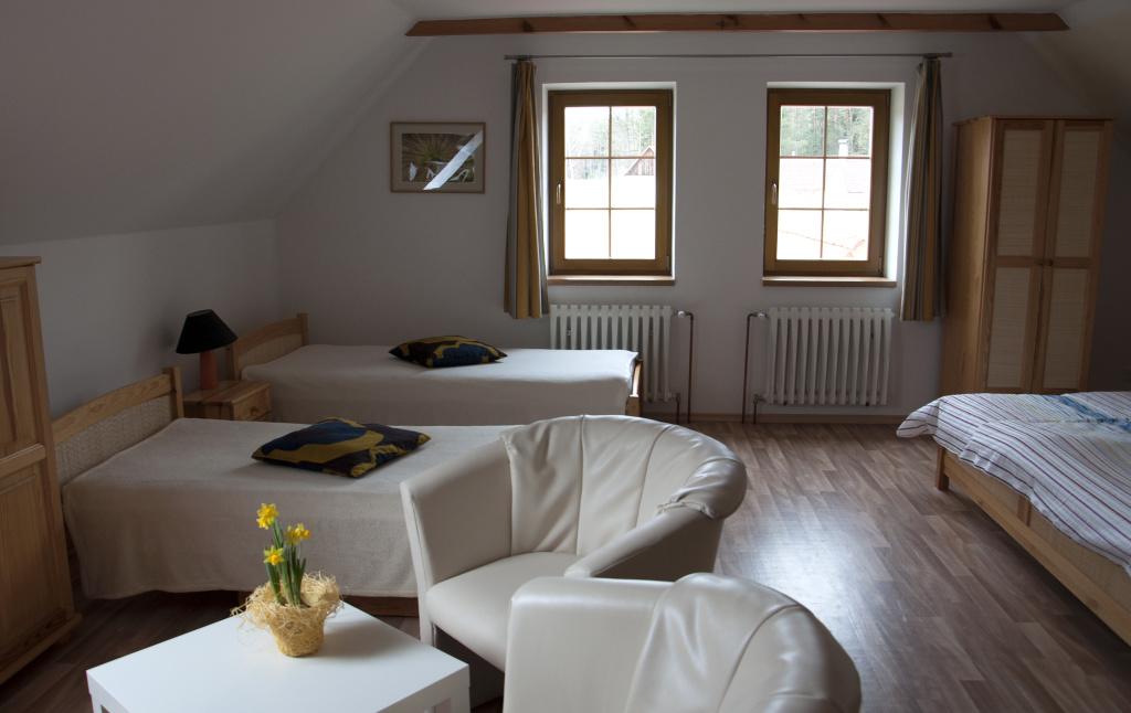 apartmán, kompletně vybavený, Třeboň, ubytování, Třeboňsko, soukromí