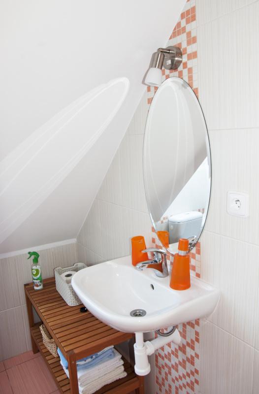 Třeboňsko, ubytování v soukromí, koupelna